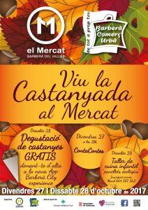 Castanyada Mercat Municipal 11 Setembre Baberà del Vallès